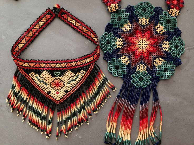 Huichol Necklaces-