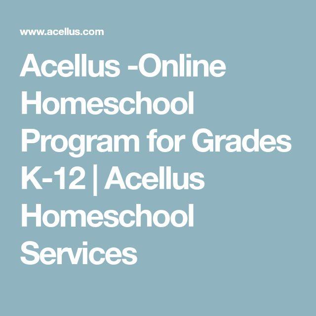 Acellus -Online Homeschool Program for Grades K-12 | Acellus Homeschool Services