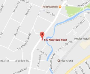 Sheffield Wellness Centre is located near Ecclesall, Nether Edge, Abbeydale, Meersbrook, Heeley and Woodseats in Sheffield