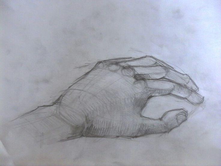 Hand skatch