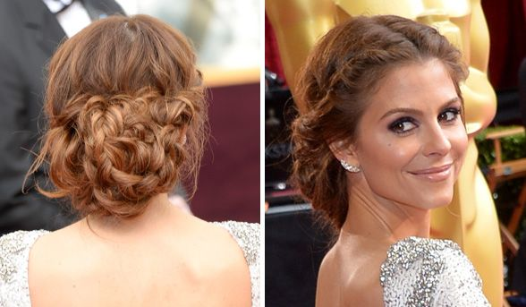 Maria Menounos | Best beauty looks from the Oscars 2014 | The Academy Awards red carpet