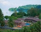 Sandy Beach resort Pankor Island
