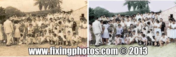 Photo repair and restoration done right! http://www.fixingphotos.com #photorepair #photorestoration #giftideas