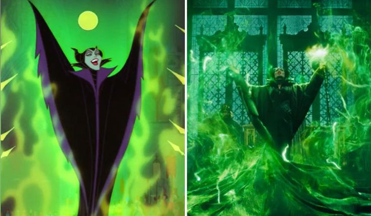 Maleficent Gets Animated in This Sleeping Beauty/Maleficent Trailer Mashup | Oh My Disney