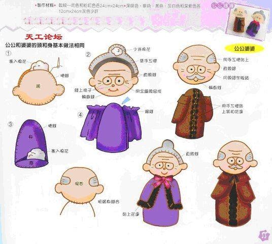 Hasta Karya Sparina: Boneka Kakek Nenek