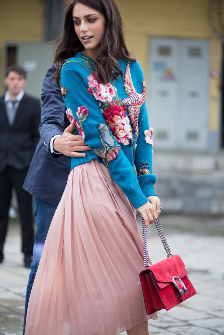 nice #Gucci on the streets of #MFW - See more fashion week action on The Hub... by http://www.redfashiontrends.us/milan-fashion-weeks/gucci-on-the-streets-of-mfw-see-more-fashion-week-action-on-the-hub/