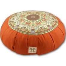Simple, beautiful, meditation cushion.  They are great decoration in any room, and also help you keep good posture while you are meditating, or even just when you are sitting around on the floor!