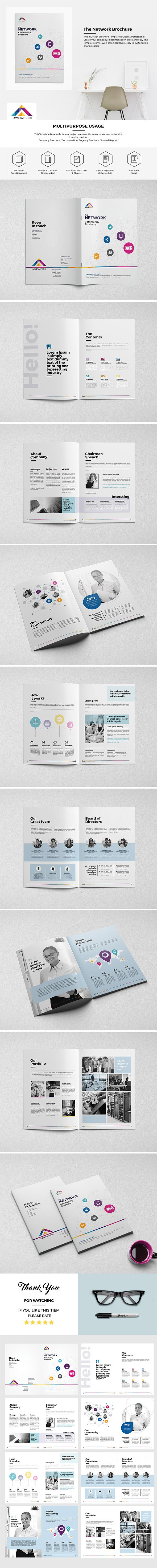 21 besten Brochure Template Bilder auf Pinterest | Broschüren ...