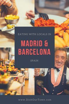 Eating in #Barcelona and 3Madrid with Locals via @DishOurTown #localfood