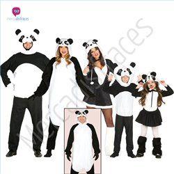 #Disfraces divertidos de #Panda para grupos #mercadisfraces tienda de #disfraces online, #disfraces #originales y baratos para tus fiestas de #carnaval o #halloween