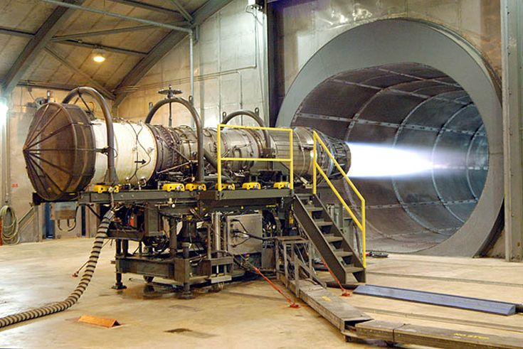 Aerospace Engineers have the difficult task of making jet engines with efficient, and powerful propulsion. This will create jets with fast takeoffs, and more effective landings.     http://en.wikipedia.org/wiki/File:Engine.f15.arp.750pix.jpg