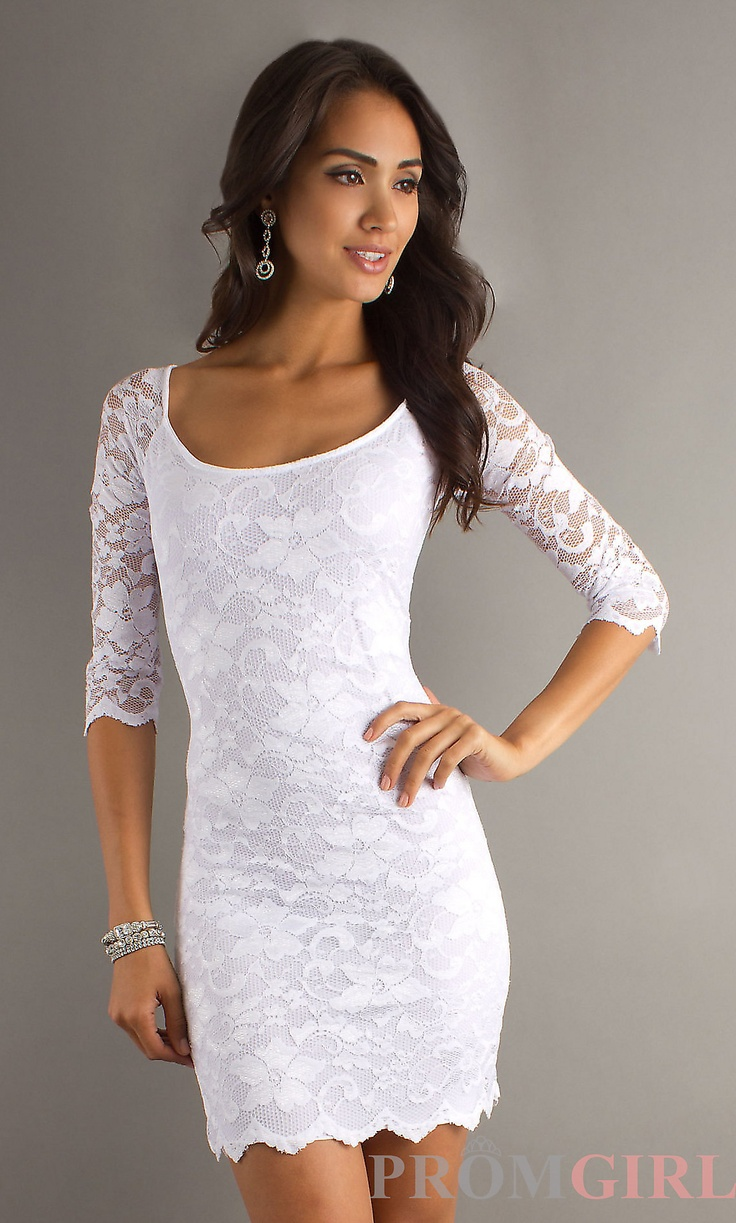 Images of Tight White Lace Dress - Watch Out, There's a Clothes About