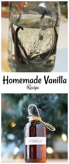Homemade Vanilla Extract Recipe - a great gift for anyone!