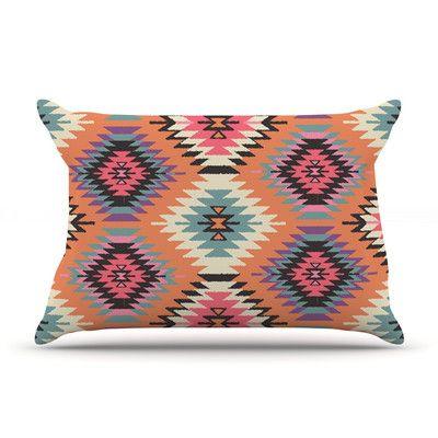East Urban Home Navajo Dreams by Amanda Lane Featherweight Pillow Sham, Orange
