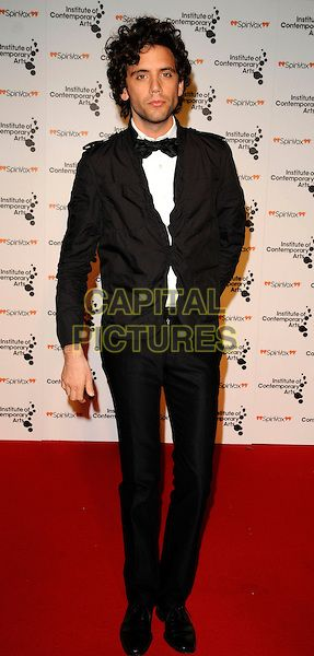 "MIKA aka Michael Holbrook Penniman @ ""Figures Of Speech"" ICA Annual Gala Inside Arrivals, The Brewery, London, England, March 26th 2009"