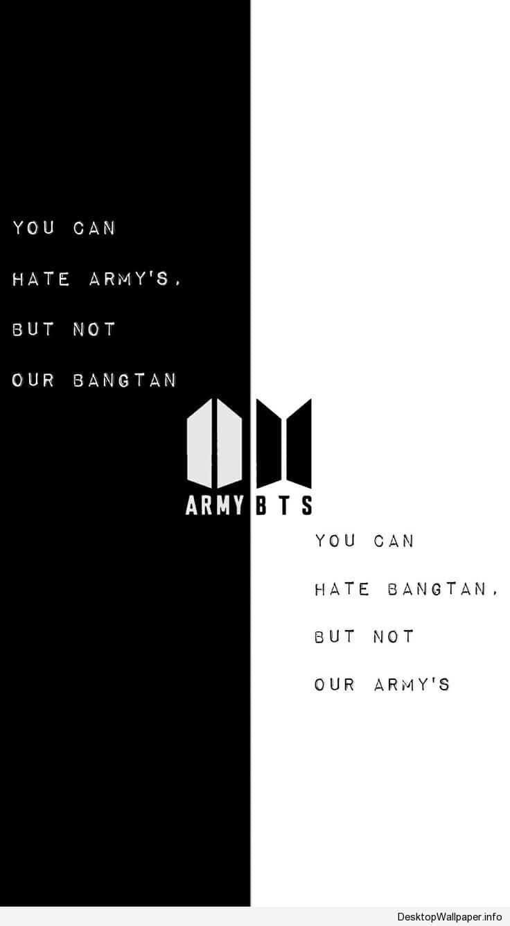 Kpop Bts Army Fond D Ecran Bts Quotes Life Humor New Quotes Bts quotes wallpaper black and white