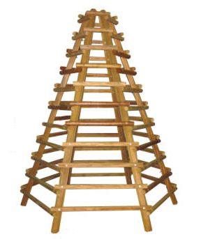 Wood hexagonal climbing frames climbing frame outdoor equipment toy $518.55