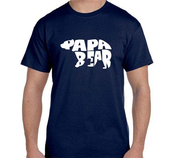 Vater Geschenk Mann Geschenk Papa Bear T-shirt Großvater Geschenk für Papa Geschenk für Opa Geschenk für Onkel Geschenk für Bruder Geschenk für Freund