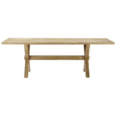 Constable Dining Table 224x95cm  Natural Freedom Furniture $1199 plus $115 delivery