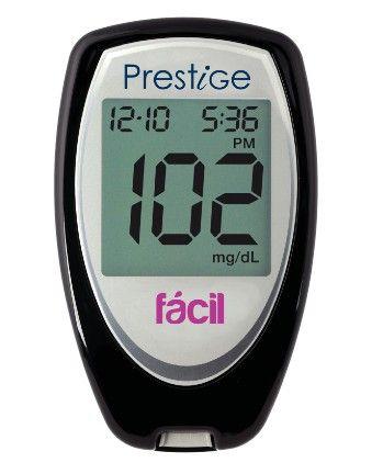 Mire este producto que puede interesarle: Glucometro Nipro Prestige Facil #espirometros