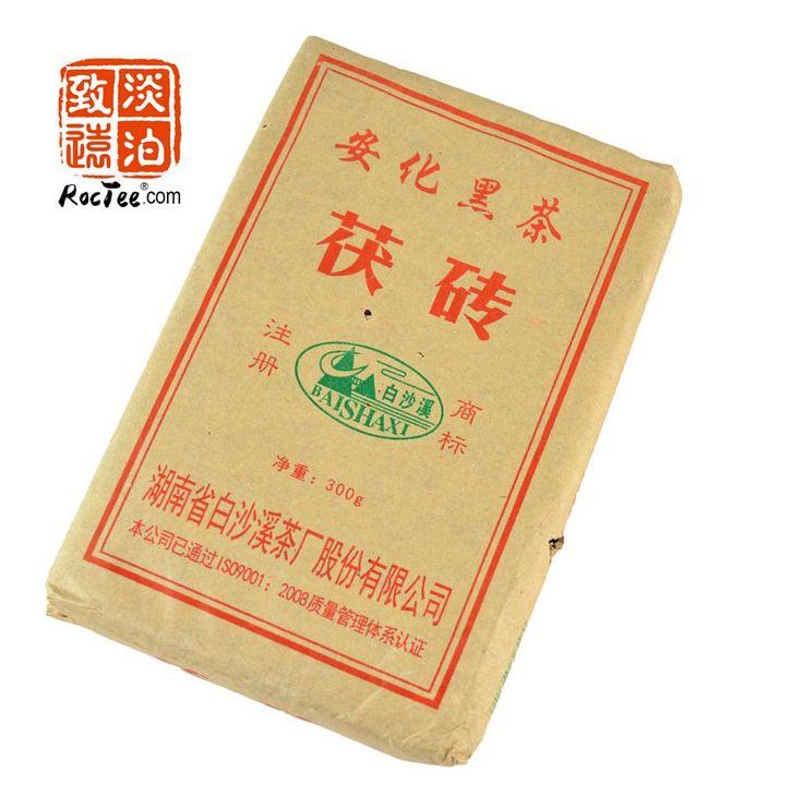 2015 Года Сжатый Чай Китайский Темный Чай, Anhua Фу Ча, Хуа Фу Чай Для Похудения Китай Здоровья Хорошее, Качественное Питание Сладкий