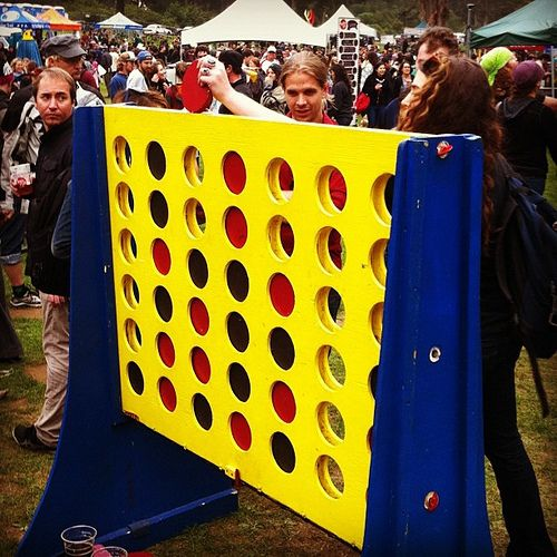 Life size Connect Four - http://www.tutorfrog.com/life-size-connect-four/  #Toys #cooltoys