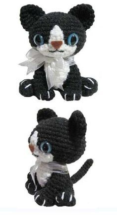 FREE Little Kitty Cat Amigurumi Crochet Pattern and Tutorial