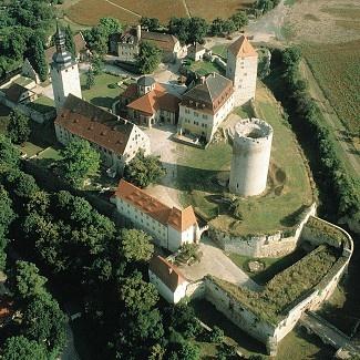 Burg Querfurt, Sachsen-Anhalt, Deutschland