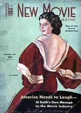 Pic Kay Francis New Movie magazine cover 35m-4242