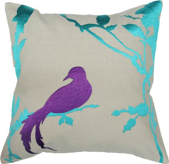 The Naya Solo Bird Toss Cushion from Urban Barn is a unique home decor item. Urban Barn carries a variety of Pillows and other  products furnishings.