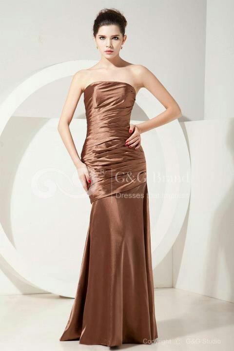 Bronze wedding dress <3 themarriedapp.com hearted <3 #pinnaked @Urban Decay