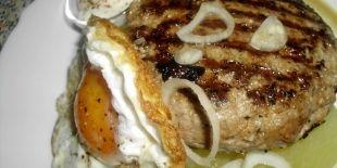 Hovězí grilovaný burger