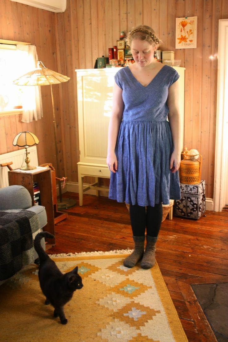 Viffla: En till blå klänning!
