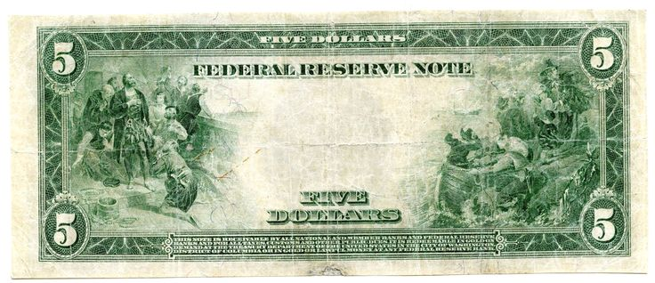 Spectacular 1914 $5 Federal Reserve Note – Red Seal – Large Currency – San Francisco – AK160 https://www.paper-money-collector.com/product/1914-5-federal-reserve-note-red-seal-large-currency-san-francisco-ak160/ #Numismatics #UnitedStates