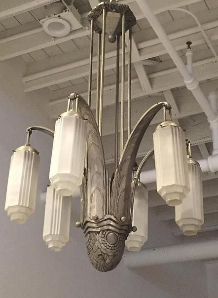 1 of a kind | Majestic french art deco chandelier