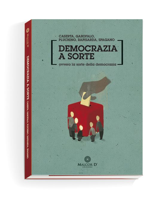 Book cover. Democracy for chance.