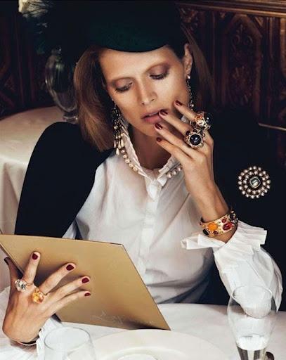 Vogue Paris August 2012