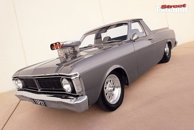 From a tough 429-cube big-block to a bulletproof rear end, Sam Gauci's Ford Falcon XY ute means b...