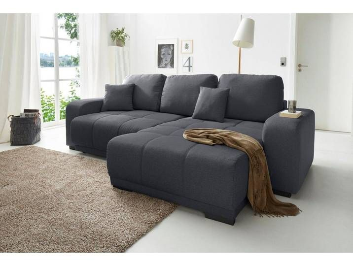Cotta Eck Couch Schwarz 270cm Recamiere Rechts Fsc Zertifiziert In 2020 Sofa Couch Furniture