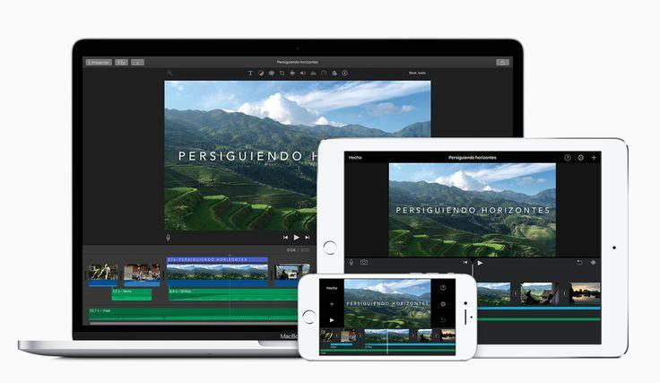 B3. HERRAMIENTA iMovie es un editor de vídeo para Mac muy fácil de usar y sencillo, con entorno de trabajo muy intuitivo. Da resultados muy buenos. #EduNarraDig