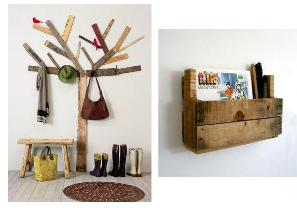 Ideoita kierrätetystä puusta @ Asuntomessut ja blogit