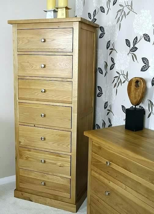 Oak chest of drawers for the bedroom | Bedroom | Bedroom ...