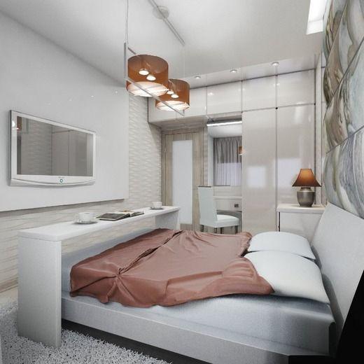 Современная квартира . Спальня