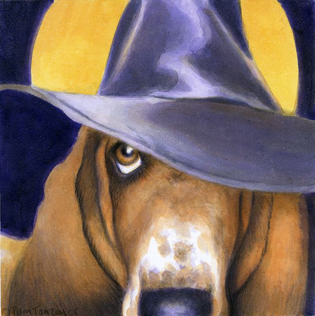 Are You a Good Witch or a Bad Witch? - signed print