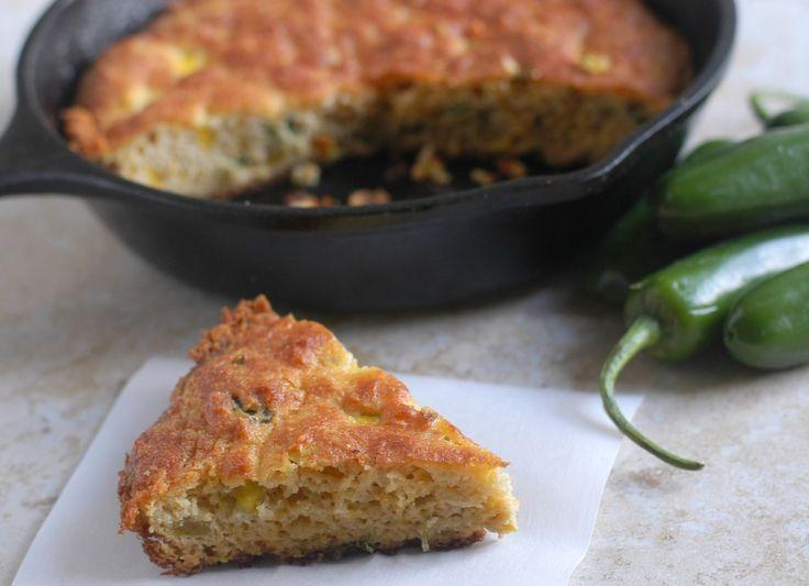 "Jalapeno-Cheddar ""Corn"" Bread - Satisfying Eats - perfect ..."