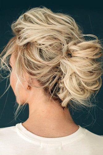 Enjoyable Simple Updos For Quick Hair #hairstylegood