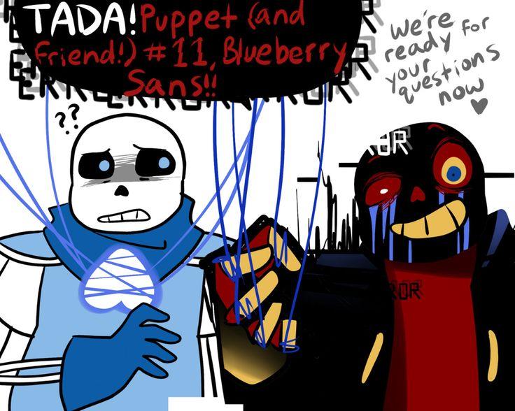 Blueberry And Error Sans Comics