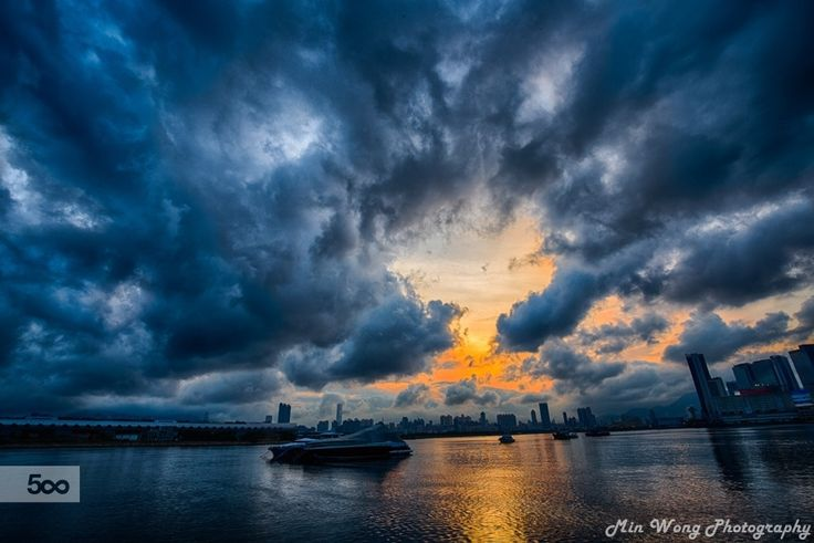 Sunset by Min WONG on 500px
