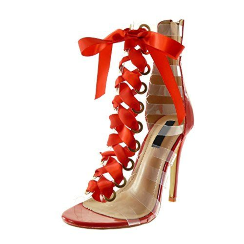 Chaussures femme escarpin High Heels rouge Multi 37