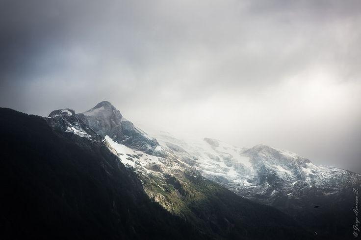 Cordón montañoso en Aysén